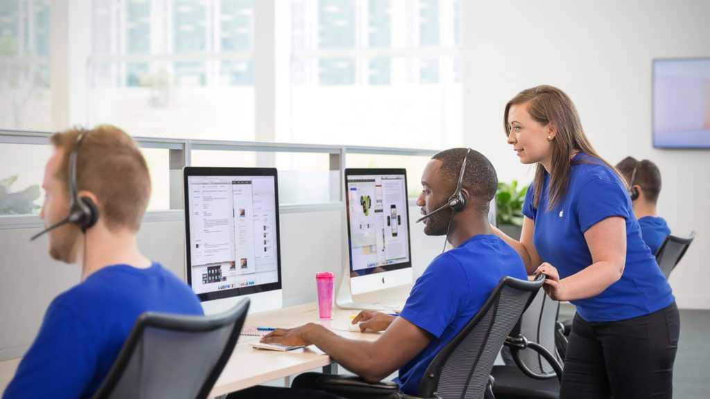 ПоддержкаТВ— официальная служба поддержки Apple