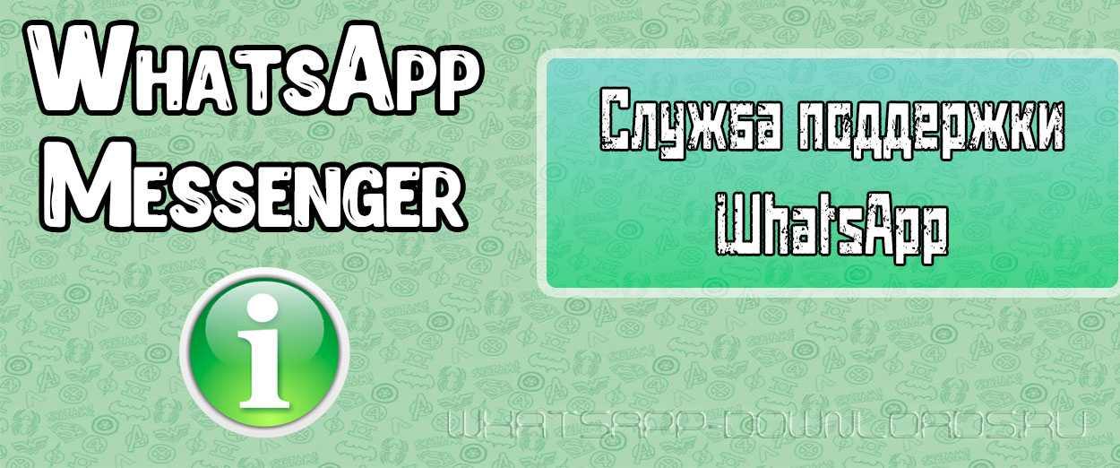 Как получить помощь от разработчиков WhatsApp?