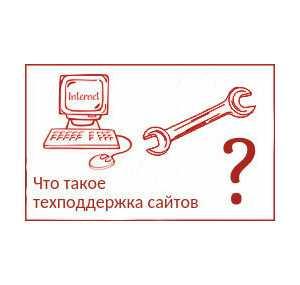 Что такое техподдержка сайтов?