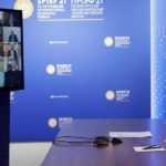 Президент России врамках ПМЭФ ответил навопросы руководителей мировых информагентств. Новости. Первый канал