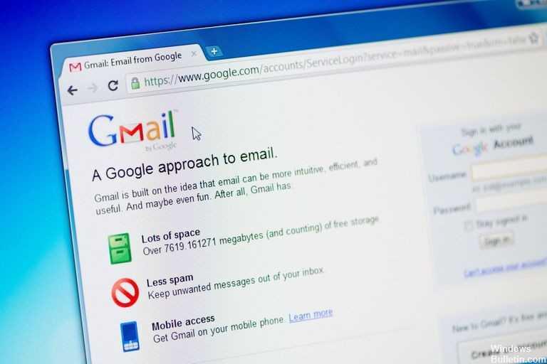Как исправить: Gmail не загружается - учебные пособия по Windows