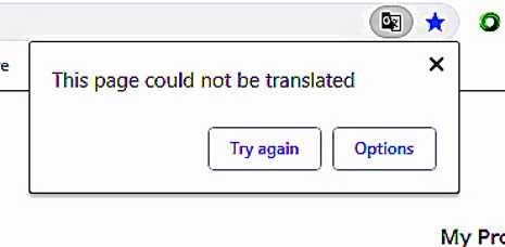 Что делать, если Сhrome не предлагает перевести страницу | Белые окошки