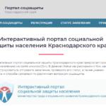 Услуги социальной защиты | Интерактивный портал социальной защиты населения министерства труда и социального развития Краснодарского края